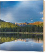 Echo Lake 4 Wood Print