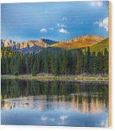 Echo Lake 5 Wood Print