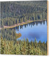 Echo Lake 7 Wood Print