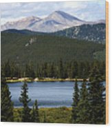 Echo Lake Colorado Wood Print