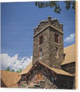 Eckert Colorado Presbyterian Church Wood Print