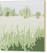 Eckert Skyline 2 Wood Print