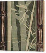 Eclipse Bamboo With Frame Wood Print