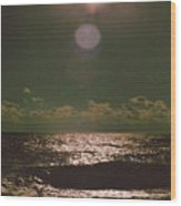 Eclipse Of The Soul Wood Print