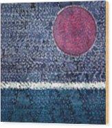 Eclipse Original Painting Wood Print