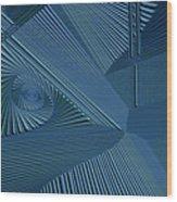 Ecnedifnoc Wood Print