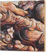 Ecstasy Maximus  Wood Print