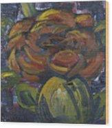 Ecuador Rose Wood Print
