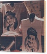 Ed And Ralphie Boy Wood Print