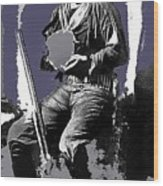Ed Schieffelin Portrait C.1880-2015 Wood Print
