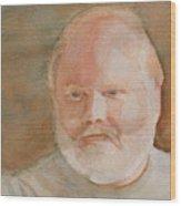 Ed Turns Forty Wood Print