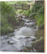 Edale Bridge. Wood Print