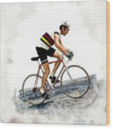Eddie Merckx #2 Wood Print