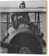 Eddie Rickenbacker - World War One - 1918 Wood Print