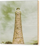 Eddystone Point Lighthouse Wood Print