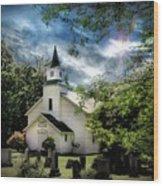 Eden Church Wood Print