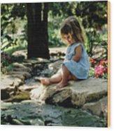 90140 Eden Joy Srf Garden Wood Print