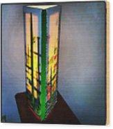 Eden Lamp Wood Print