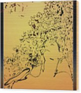 Eden Sun Wood Print