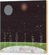 Edentia Sea Of Glass Wood Print