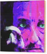 Edgar Allan Poe The Eyes Of The Ravens 20160430 V3 M88 Wood Print