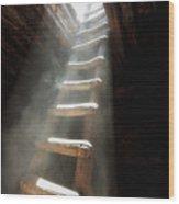 Edge Of The Cedars  Kiva Wood Print