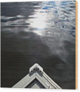 Edge Of The Dock 2 Wood Print