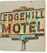Edgehill Sketched Wood Print