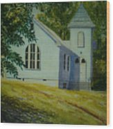 Edgemont Baptist Church Wood Print