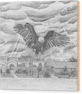 Edgerton School Wood Print