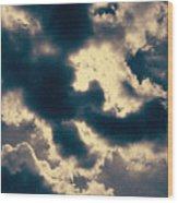 Edgewater Skies Wood Print