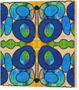 Edible Extremes Abstract Bliss Art By Omashte Wood Print