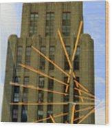 Edifice Aldred Wood Print