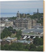 Edinburgh Castle View #3 Wood Print