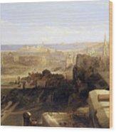 Edinburgh From The Castle Wood Print