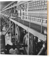 Edison Sault Power Plant At Sault Ste Wood Print