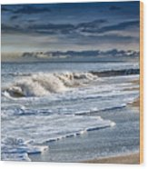 Edisto Island Beach Wood Print