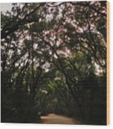 Edisto Island Wood Print
