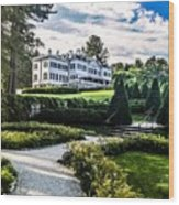 Edith Wharton Mansion Wood Print
