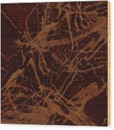 Edition 1 Rust Wood Print