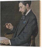 Edmond Maitre Wood Print