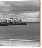 Edmonds Ferry Wood Print