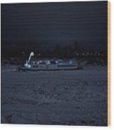 Edmonton Queen Best In Ice  - Winter Wood Print