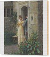 Edmund Blair Leighton 1852-1922 The Request Wood Print