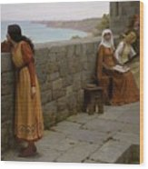 Edmund Blair Leighton - The Hostage 1912 Wood Print