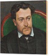 Edouard Blau Wood Print