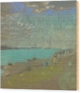 Edouard Vuillard Cuiseaux 1868-1940 La Baule The Beach. Wood Print