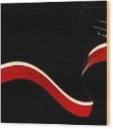 Ed's Red 1 Wood Print