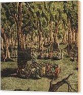 Education  Wood Print by Pralhad Gurung