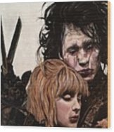 Edward And Kim Wood Print